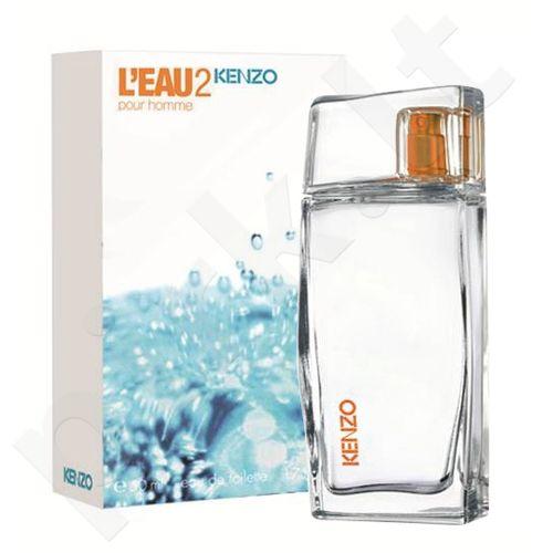 Kenzo L`Eau 2 Kenzo, tualetinis vanduo (EDT) vyrams, 50 ml