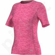 Marškinėliai bėgimui  Adidas Supernova Short Sleeve W AC2103