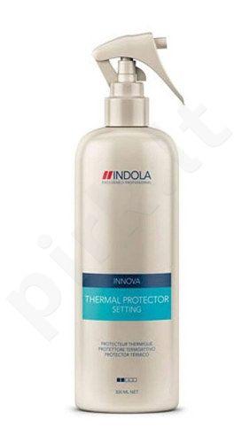 Indola Innova Thermal Protector Setting purškiklis, kosmetika moterims, 300ml