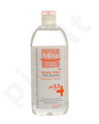 Mixa Micellar Water Anti-Dryness, kosmetika moterims, 400ml