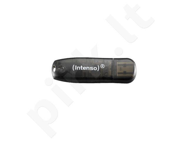 Atmintukas Intenso RAINBOW LINE BLACK 16GB