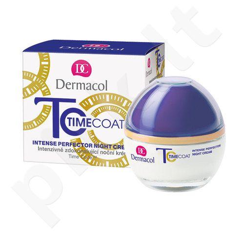 Dermacol Time Coat Intense Perfector naktinis kremas, kosmetika moterims, 50ml
