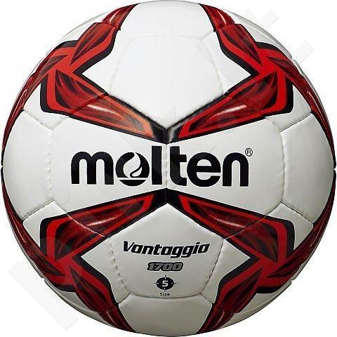 Futbolo kamuolys outdoor leisure F5V1700-R white/red