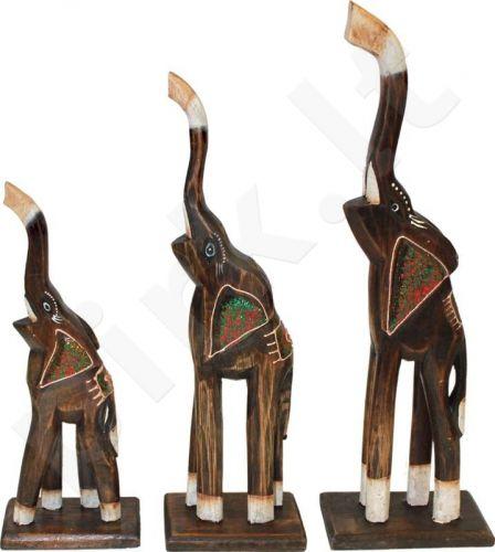 3 dramblių statulėlės 62103