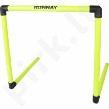 Treniruočių kliūtis Ronnay susidedantis 45cm geltonas