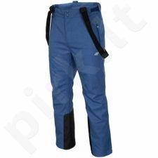 Sportinės kelnės slidinėjimo 4f M T4Z16-SPMN003 mėlyna