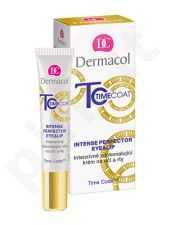 Dermacol Time Coat Intense Perfector Eye&lūpų kremas, kosmetika moterims, 15ml