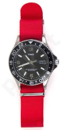 Laikrodis TIMEX  KALEIDOSCOPE - STAINLESS STEEL - CLOTH - - INDIGLO - kvarcinis - - WR 5 ATM