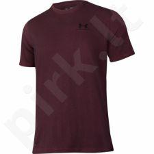 Marškinėliai treniruotėms Under Armour Sportstyle Left Chest Logo M 1257616-603