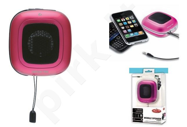 MOBILESPEAKER speaker universal Cellular rožinė