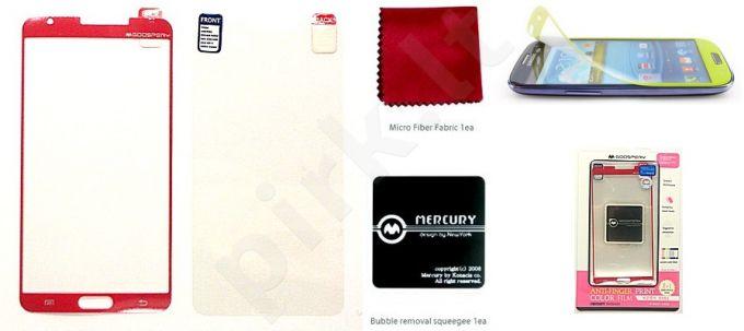 Samsung Note 3 ekrano plėvelė  COLOR Mercury raudona