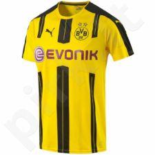 Marškinėliai futbolui Puma Borussia Dortmund Home Replica Shirt M 74982101