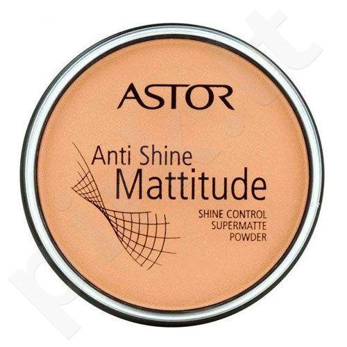 Astor Anti Shine Mattitude Powder, matinė kompaktinė pudra 14g, kosmetika moterims  - 4