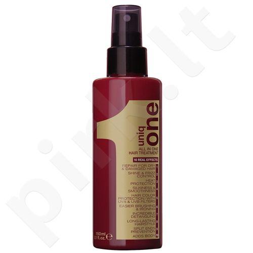 Revlon Uniq One, nenuplaunama plaukų kaukė, kosmetika moterims, 9ml