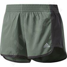 Šortai sportiniai Adidas 100M Dash Knit Short W BP9326