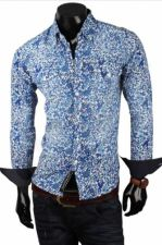 Marškiniai CRSM - mėlyno atspalvio 9511-1