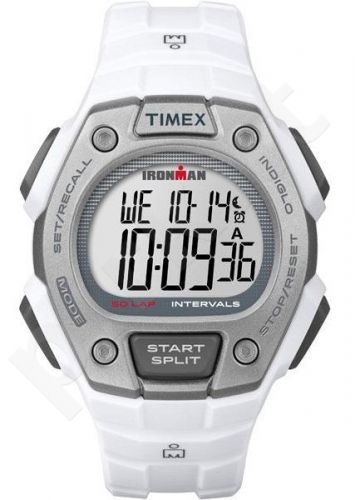 Laikrodis TIMEX  IRONMAN CLASSIC - PLASTIC - kvarcinis - - WR