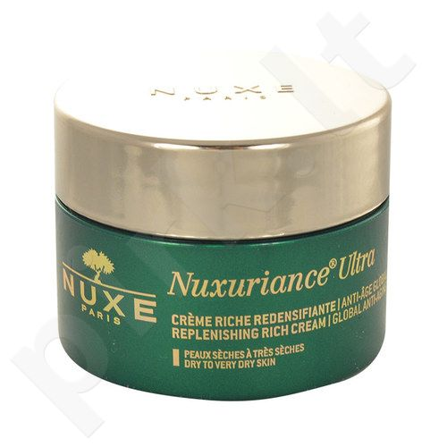 Nuxe Nuxuriance Ultra Replenishing prabangus kremas, kosmetika moterims, 50ml, (testeris)