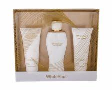 Ted Lapidus White Soul, rinkinys kvapusis vanduo moterims, (EDP 100 ml + kūno kremas 100 ml + dušo želė 100 ml)