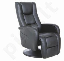 Fotelis su šildymo ir masažo funkcija PULSAR
