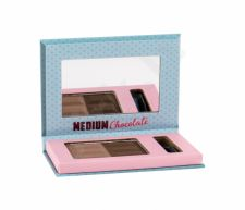 Misslyn Chocolate Brow Duo, antakiams moterims, 5g, (4 Medium Chocolate)