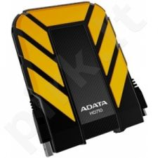 Išorinis diskas Adata DashDrive HD710 500GB USB3 Geltonas, Atsparus vandeniui