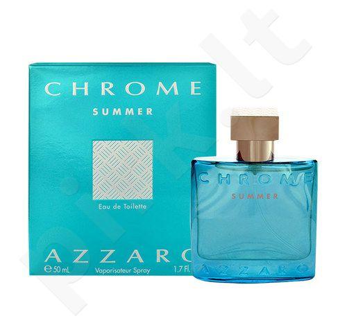 Azzaro Chrome Summer, tualetinis vanduo vyrams, 50ml