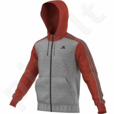Bliuzonas  Adidas Sport Essentials 3S Full Zip Hoodie Fleece M AY5483