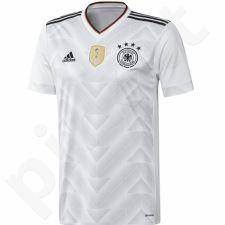 Marškinėliai futbolui Adidas Niemcy Replika Home Jersey 2016/17 Junior B47863