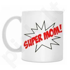 "Puodelis ""Super mom"""