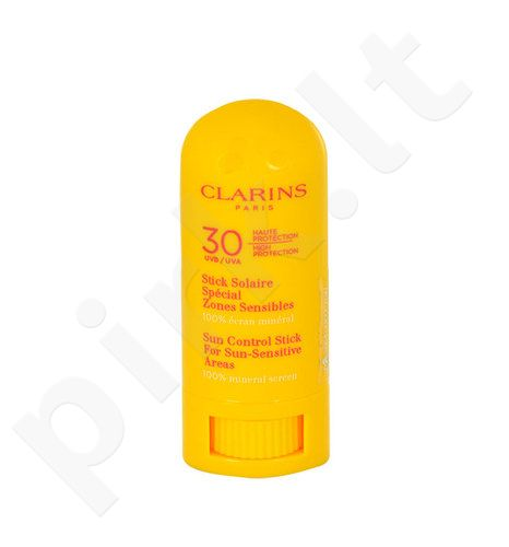 Clarins Sun Control Stick SPF30 For Sun-Sensitive Areas, kosmetika moterims, 8g, (testeris)