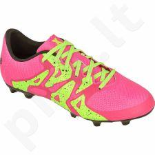 Futbolo bateliai Adidas  X 15.3 FG/AG Jr S74639