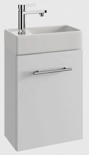 Vonios kambario spintelė su praustuvu pakabinama 4010 D40