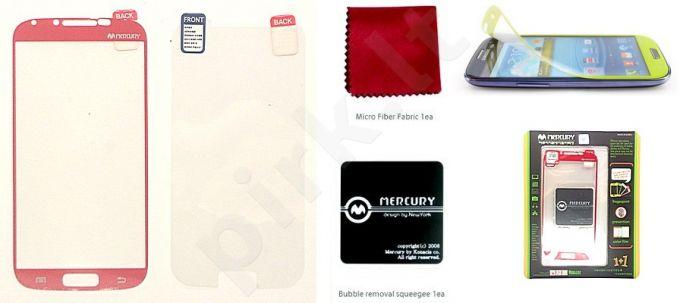 Samsung Galaxy S4 ekrano plėvelė  COLOR Mercury raudona