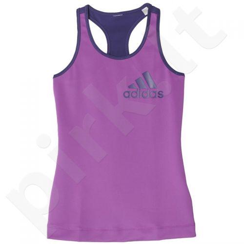 Marškinėliai treniruotėms Adidas Techfit Logo Tank W AY4506
