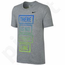 Marškinėliai bėgimui  Nike Dri-FIT Blend There Is No Finish Line M 778353-063