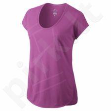 Marškinėliai tenisui Nike Court Baseline W 728752-501