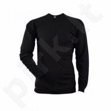 Termo marškinėliai 29308 M 20 black ilgomis rankovėmis