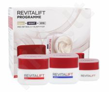 L´Oréal Paris Revitalift, rinkinys dieninis kremas moterims, (Daily skin care 50 ml + Night skin care 50 ml + paakių kremas 15 ml)