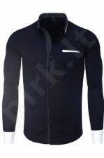 Marškiniai CRSM - mėlyno atspalvio 9512-1