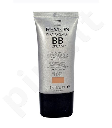 Revlon Photoready BB kremas SPF30, kosmetika moterims, 30ml, (030 Medium)