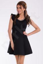 PINK BOOM suknelė - juoda 9605-2