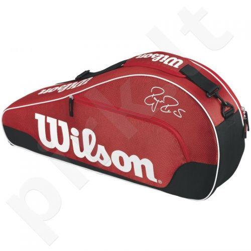 Krepšys tenisui Wilson Federer Team III Triple RD WRZ833603