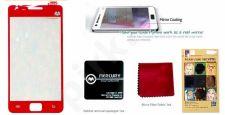 Samsung Galaxy S2 ekrano plėvelė  MIRROR Mercury raudona