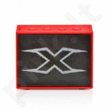 Bluetooth garsiakalbis X-ZERO X-S1828BR, 3W, raudonas