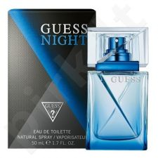 Guess Night, tualetinis vanduo (EDT) vyrams, 50 ml