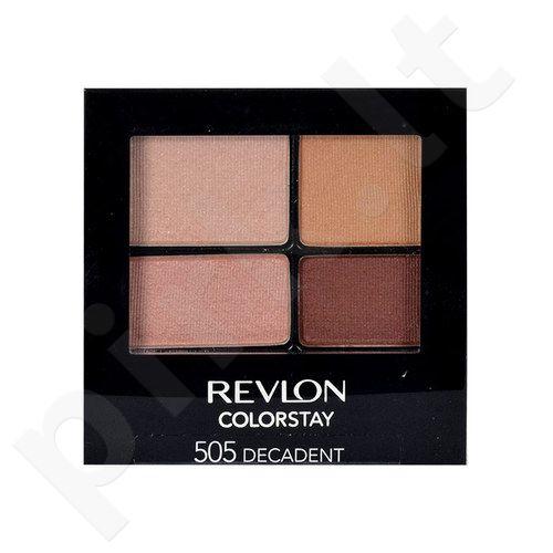 Revlon Colorstay 16 Hour akių šešėliai, kosmetika moterims, 4,8g, (530 Seductive)