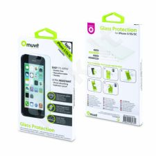 Apple iPhone 5/5S/5C/SE ekrano stiklas Muvit permatomas