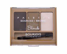 BOURJOIS Paris Brow Palette, antakiams moterims, 4,5g, (Blonde)