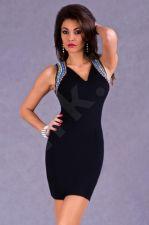 EVA&LOLA Suknelė - juodos spalvos 5304-1